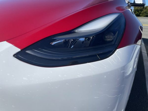 Tesla Y New Headlights Delivered